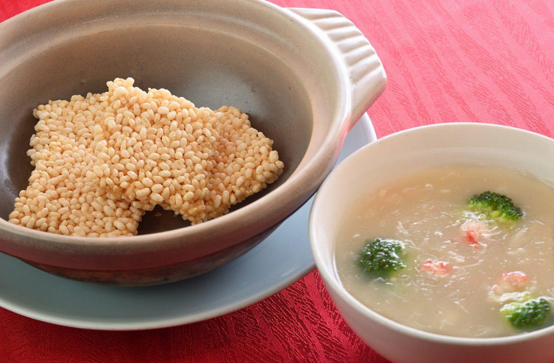 上海蟹肉のおこげ